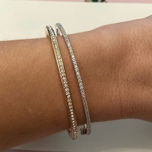 Nordstrom Delicate Pavé Bangle